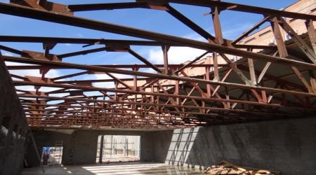 Демонтаж крыш и навесов 3 - Планета Лома