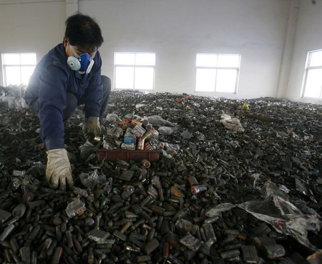 Утилизация металлолома в Японии